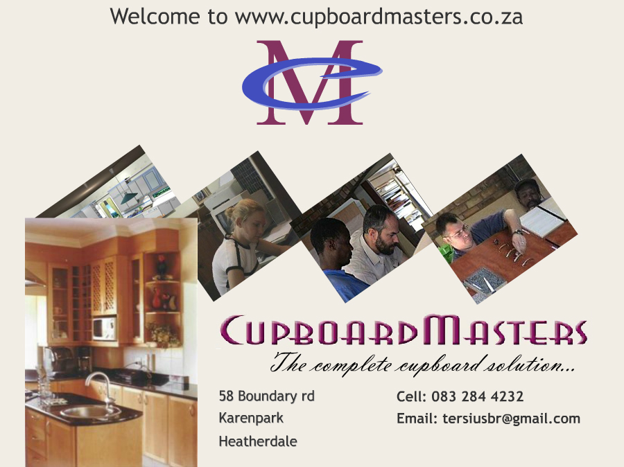 Cupboard Masters Home Page Image